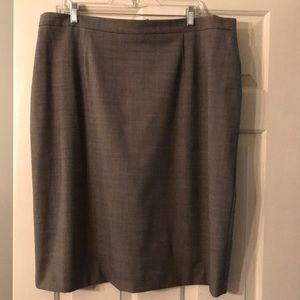 Jones New York Stretch Lined Skirt  - 20W